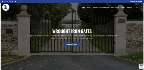LT Garage Doors Ltd Website